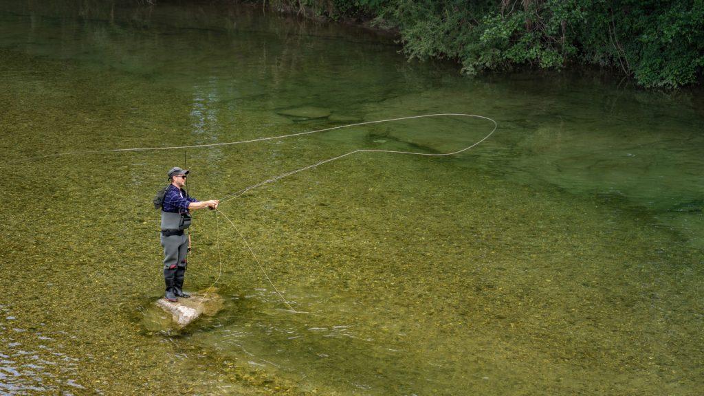 Fliegenfischen Wurftechnik