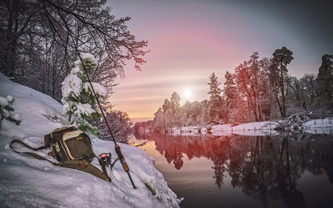 Angeln im Winter – die beste Jahreszeit
