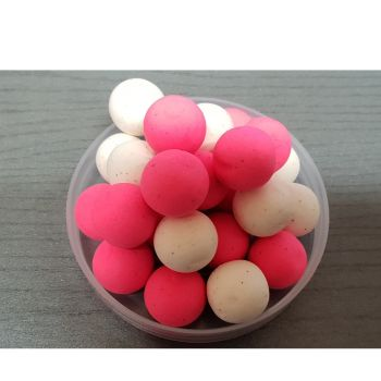 Mainline Fluoro Pop-Ups Pink & White - 14mm Cell