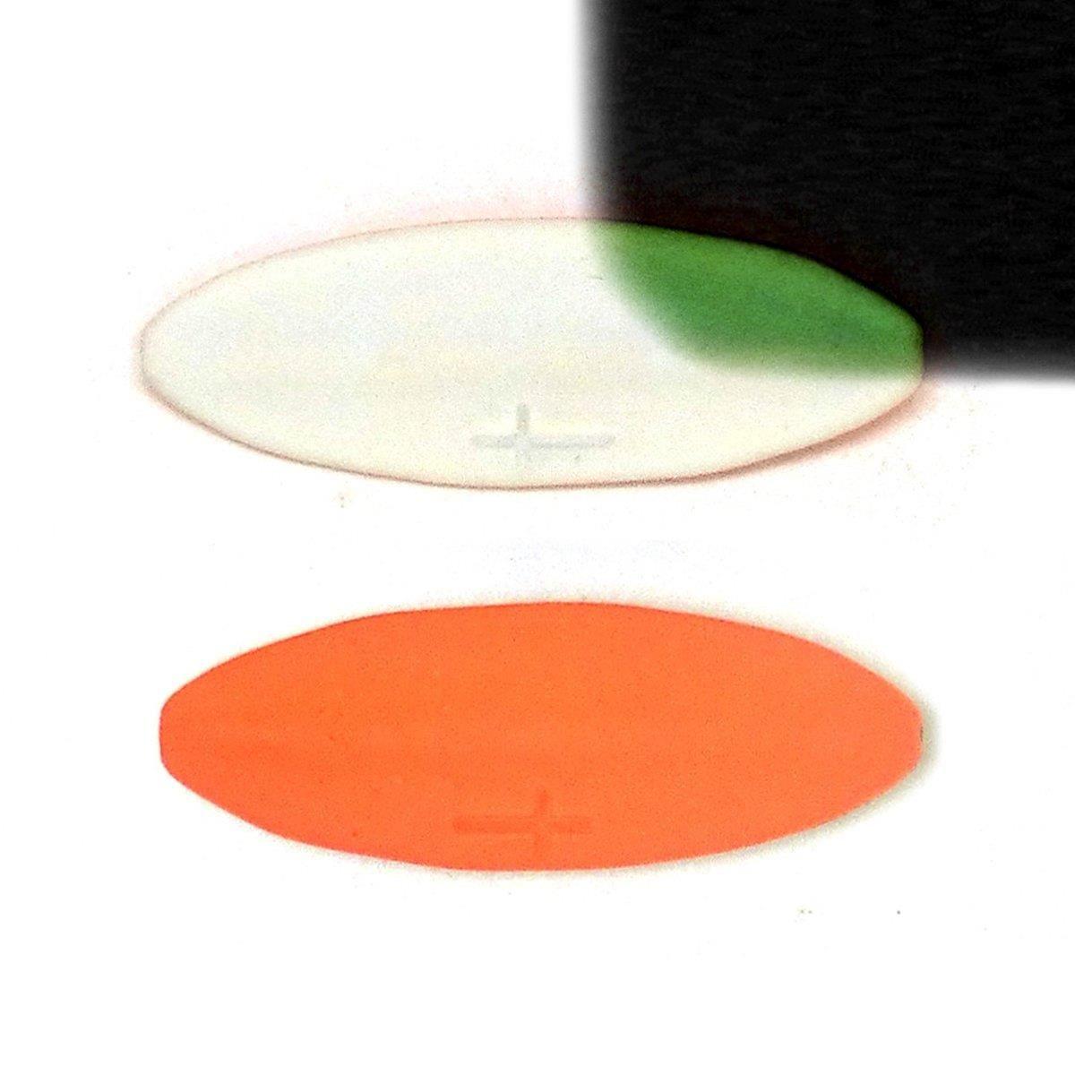 Grün-pink Praesten Durchlaufblinker Forellenblinker UL 4,5g
